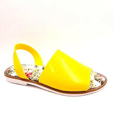 165 - Avarca Confort - Amarelo