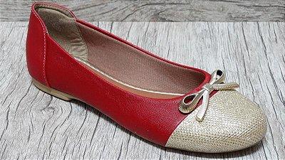 Sapatilha Vermelha - Ref 006