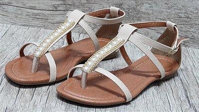 Sandália (rasteira) Natural - Ref 124