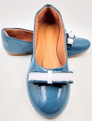 sapatilha-bico redondo-azul petroleo