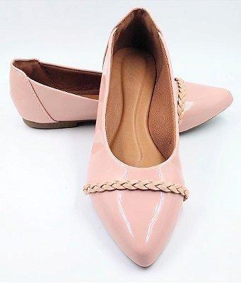 sapatilha-bico fino-rosa