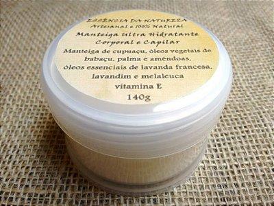 Manteiga Ultra Hidratante Corporal e Capilar