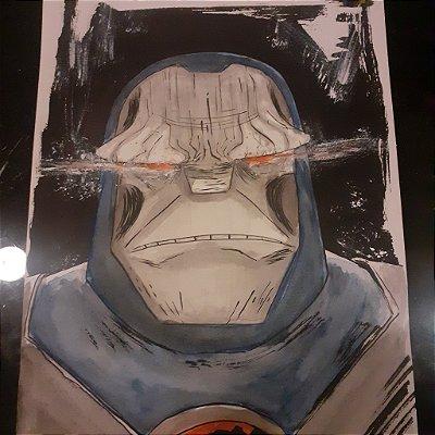 Darkseid - Arte Original A4