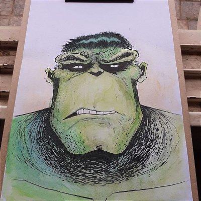 Hulk - Arte Original A4