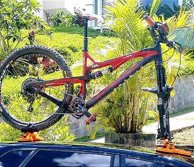 Suporte Ventosas Bicicleta Eixo 20mm Downhill Enduro