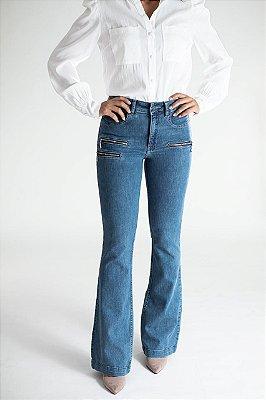 Calça Jeans Microflare - Detroit
