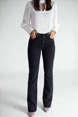 Calça Jeans Boot Cut Estonada - San Diego