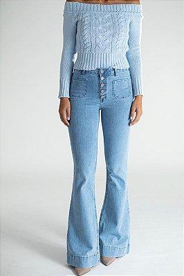 Calça Jeans Flare - Houston