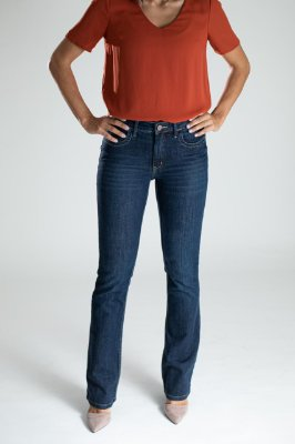 Calça Jeans Reta - São Paulo