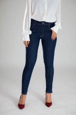 Calça Jeans Skinny Zíper na Barra - Chicago - Santé Denim