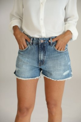 Shorts Jeans Destroyed - Gyaros - Santé Denim