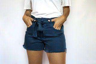 Shorts Sarja Blue - Roma - Santé Denim
