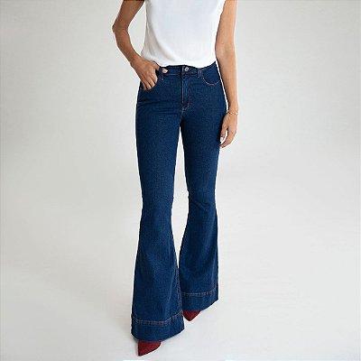 Calça Jeans Flare - Salento - Santé Denim