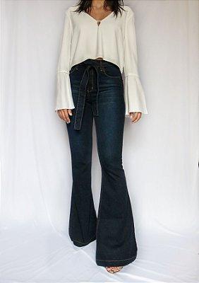 Calça Jeans Flare - Vancouver- Santé Denim