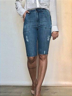 Bermuda Jeans Cliclista - Gavle - Santé Denim