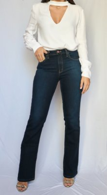 Calça Jeans Boot Cut  - Estocolmo - Santé Denim