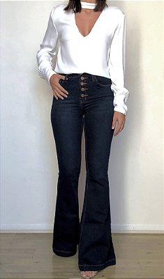 Calça Jeans Flare - Zurique - Santé Denim