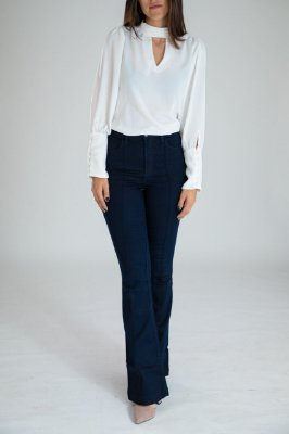 Calça Jeans Flare - Porto - Santé Denim