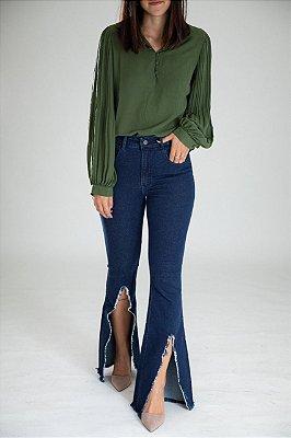 Calça Jeans Flare - Aveiro - Santé Denim