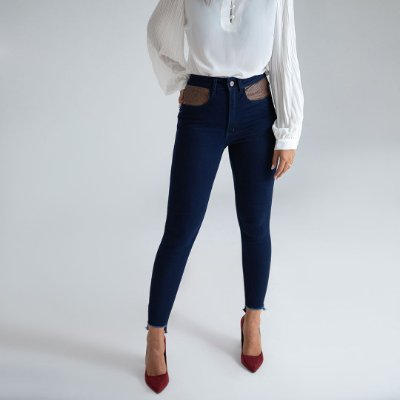 Calça Jeans Skinny - Cartagena - Santé Denim