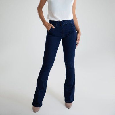 Calça Jeans Boot Cut - Bogotá - Santé Denim