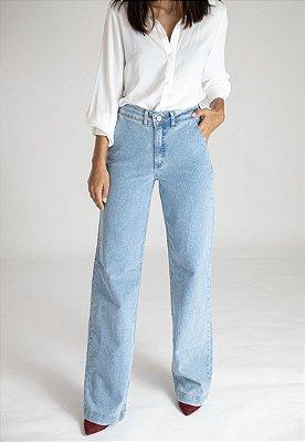 Calça Pantalona Jeans - Albury - Santé Denim