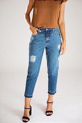 Calça Jeans Mom - Corfu  - Santé Denim