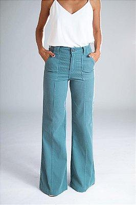 Calça Pantalona Sarja Cotelê - Nikko