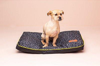 Almofada para Cachorro Mabuu Pet - Dots Preta