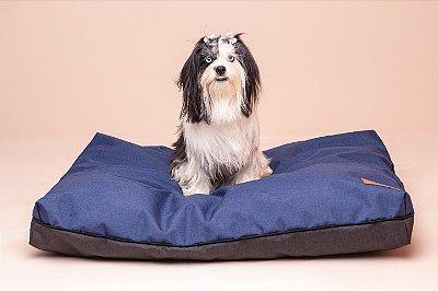 Almofada para Cachorro Mabuu Pet - Nylon Azul