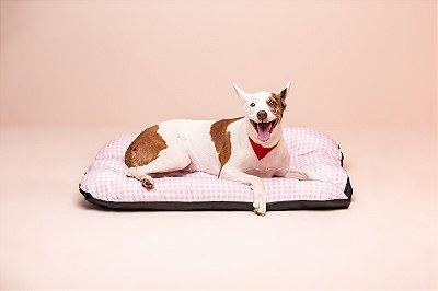 Colchonete para Cachorro Mabuu - Vichy Rosa