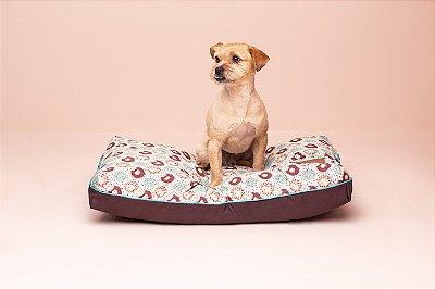 Almofada para Cachorro Mabuu Pet - Donuts Verde