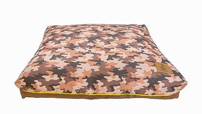 Almofada para Cachorro Mabuu Pet - Camuflado Marrom