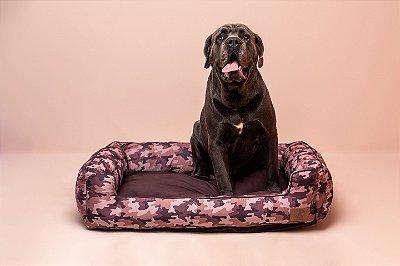 Cama para Cachorro Mabuu Pet - Camuflado Marrom