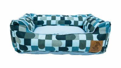 Cama para Cachorro Mabuu Pet - Abstrato Azul