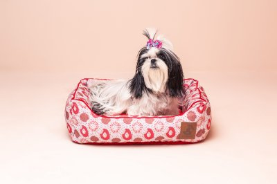 Cama para Cachorro Mabuu Pet - Donuts Rosa