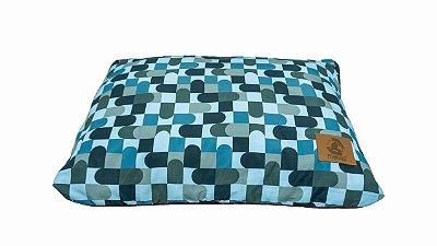 Almofada para Cachorro Mabuu Pet - Abstrato Azul