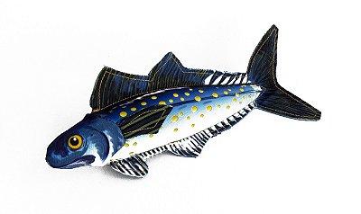 Brinquedo de Lona com Apito Cavalinha - Azul