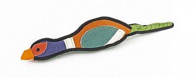 Brinquedo de Lona com Apito Faisão - Colorido