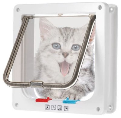 Porta de Passagem para Cães e Gatos Premium - M