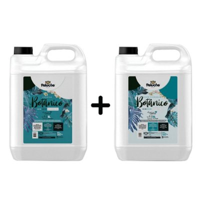 Kit Shampoo + Condicionador Premium Botânico 5 L - Peluche