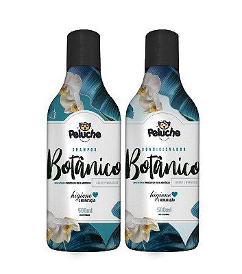 Kit Shampoo + Condicionador Premium Botânico 500 ml - Peluche