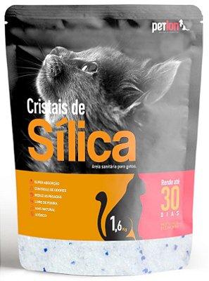 Cristais de Sílica para Gatos