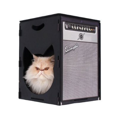 Puff Arranhador - Rock Meow