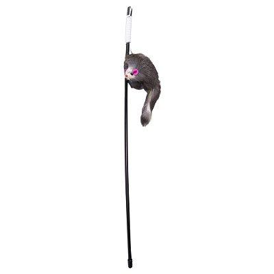 Brinquedo para Gatos - Vareta Ratinho