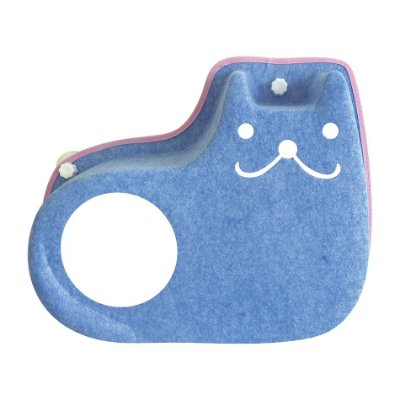 Cama de Janela com Ventosa - Sorriso - Azul