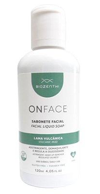 Sabonete Facial Vegano Onface Lama Vulcânica - 120ml