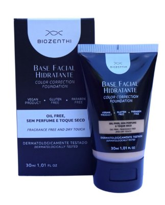 Base Facial Hidratante Vegana Biozenthi 30ml