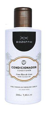 Condicionador com Oleo de Coco Vegano Biozenthi - 200ml