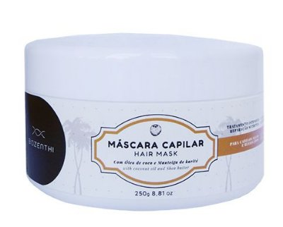 Máscara Capilar Com Oleo de Coco Vegana Biozenthi - 250g